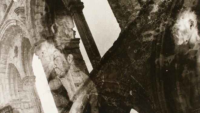 """""""Past Present"""" is among the photographic prints on display as part of Art and Design Professor Guillermo Peñafiel's exhibit, """"Capitulos"""" at the UW-Stevens Point Carlsten Gallery."""