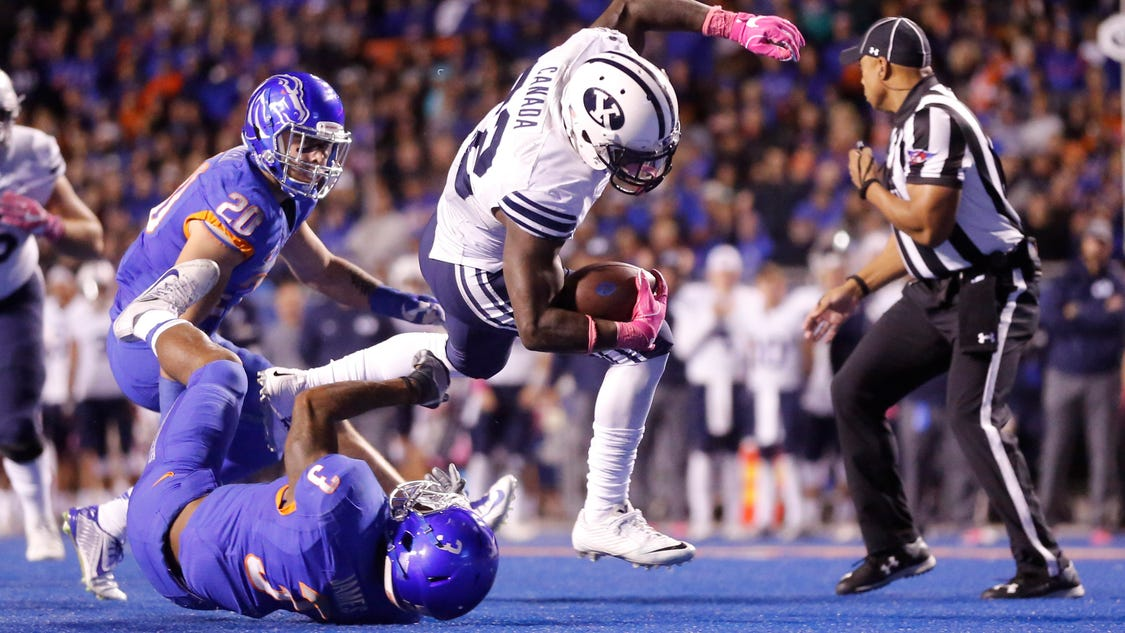 Late cousin inspires BYU running back Squally Canada