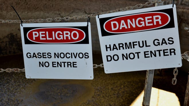 Farm workers should always assume that any confined space used for manure storage is dangerous.