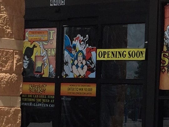 Spirit Halloween is setting up at the former World