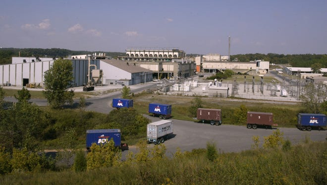 The Nyrstar Zinc Plant in Clarksville, Tennessee.