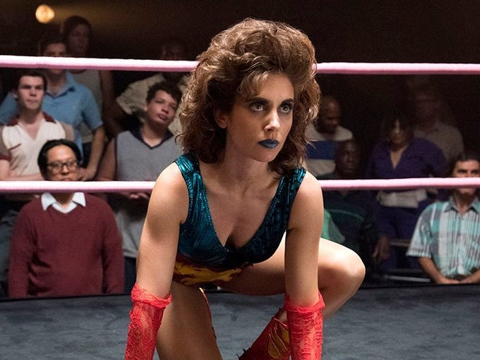 """""""GLOW,"""" which chronicles the lives of professional"""
