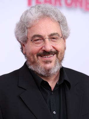 "In this file photo, director Harold Ramis attends the Columbia Pictures world premiere of ""Year One"" at AMC Lincoln Square on June 15, 2009, in New York."