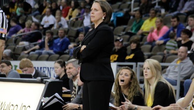 NKU head coach Dawn Plitzuweit.