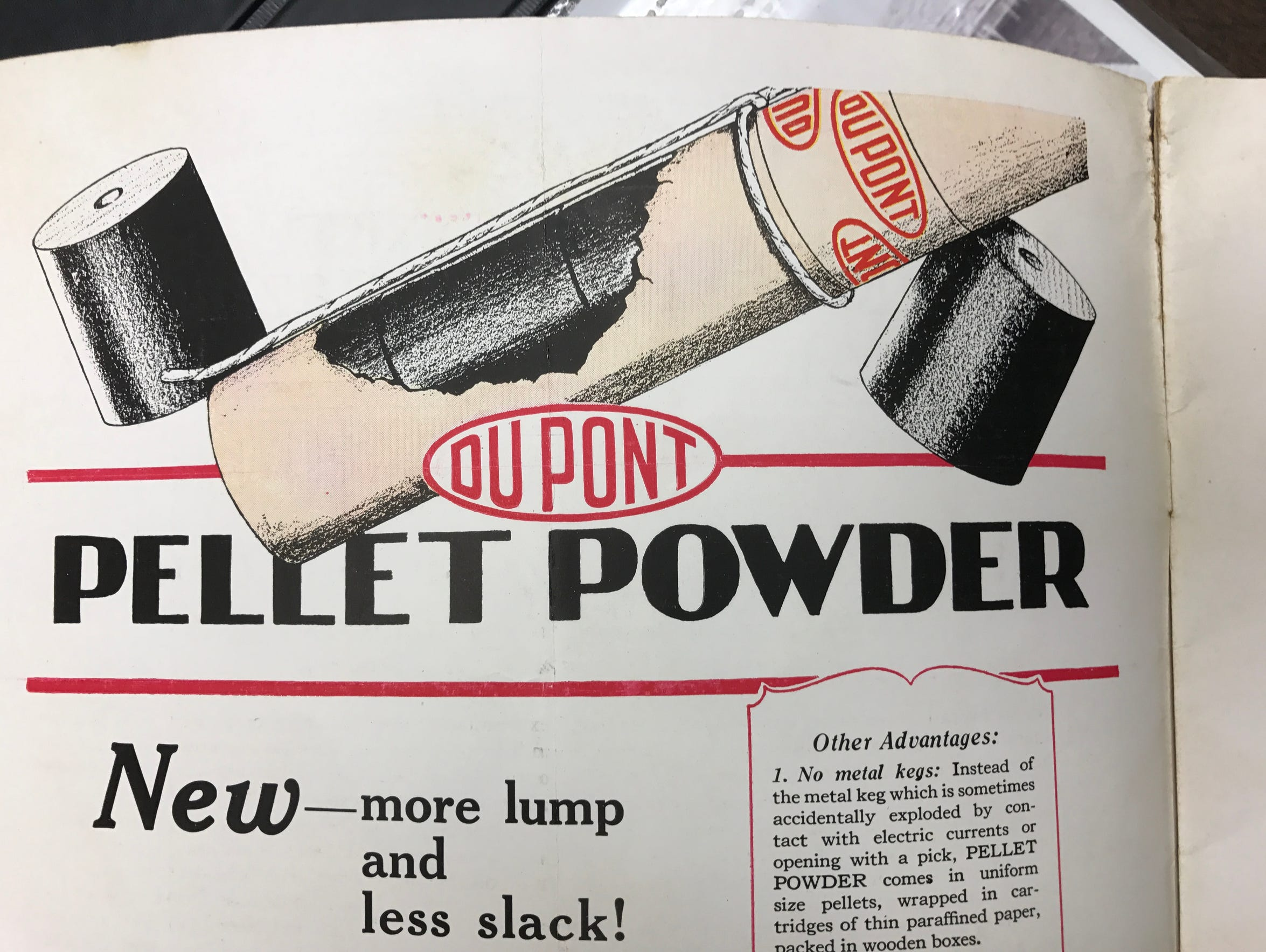 DuPont made explosive powder, blasting caps and other ammunition at its Pompton Lakes site for centuries, helping America win two world wars.