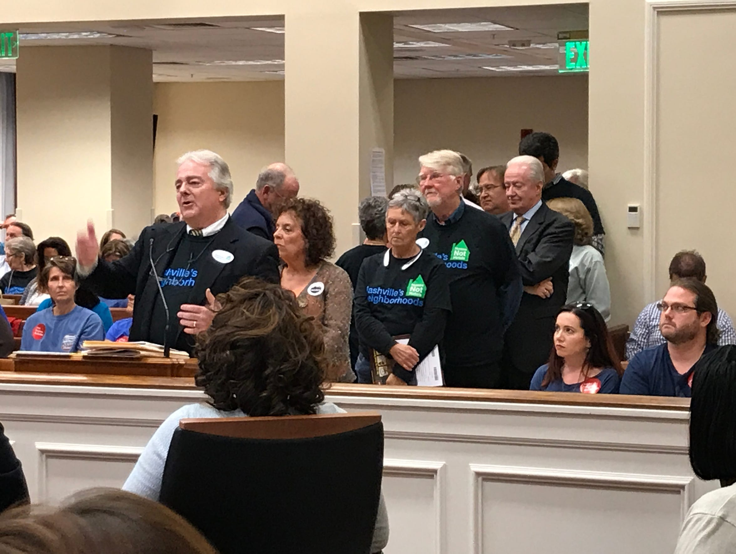Opponents of short-term rentals, led by John Summers,