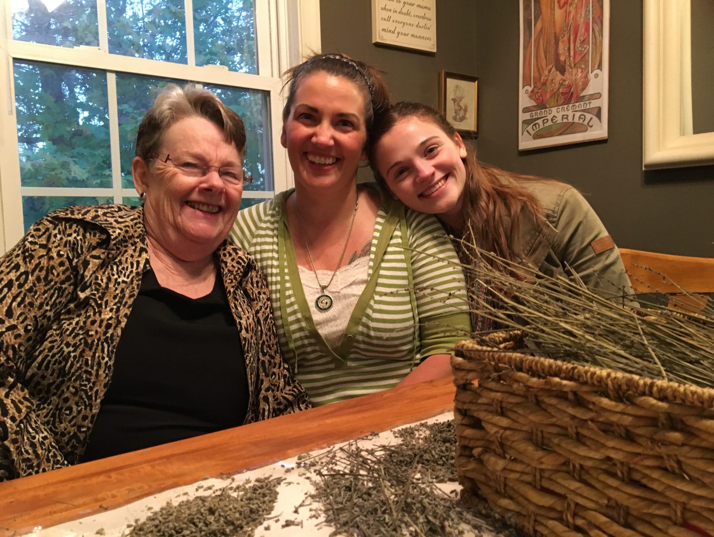 In her Staunton home on Thursday, Oct. 26, 2017, Nikki