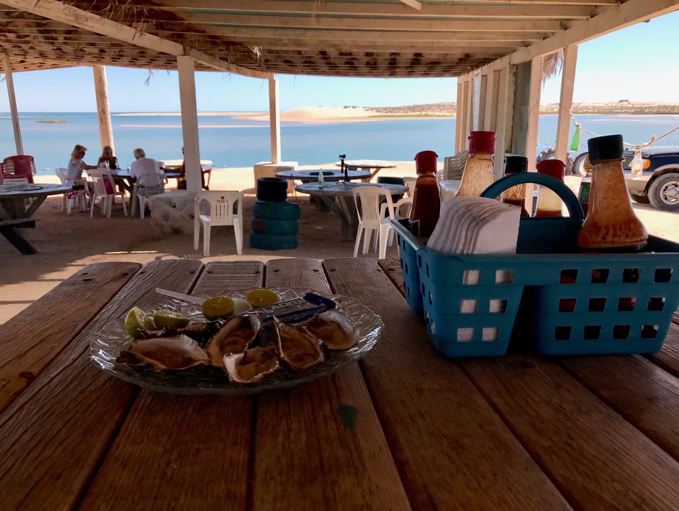 At El Barco, you can sit down, order several dozen