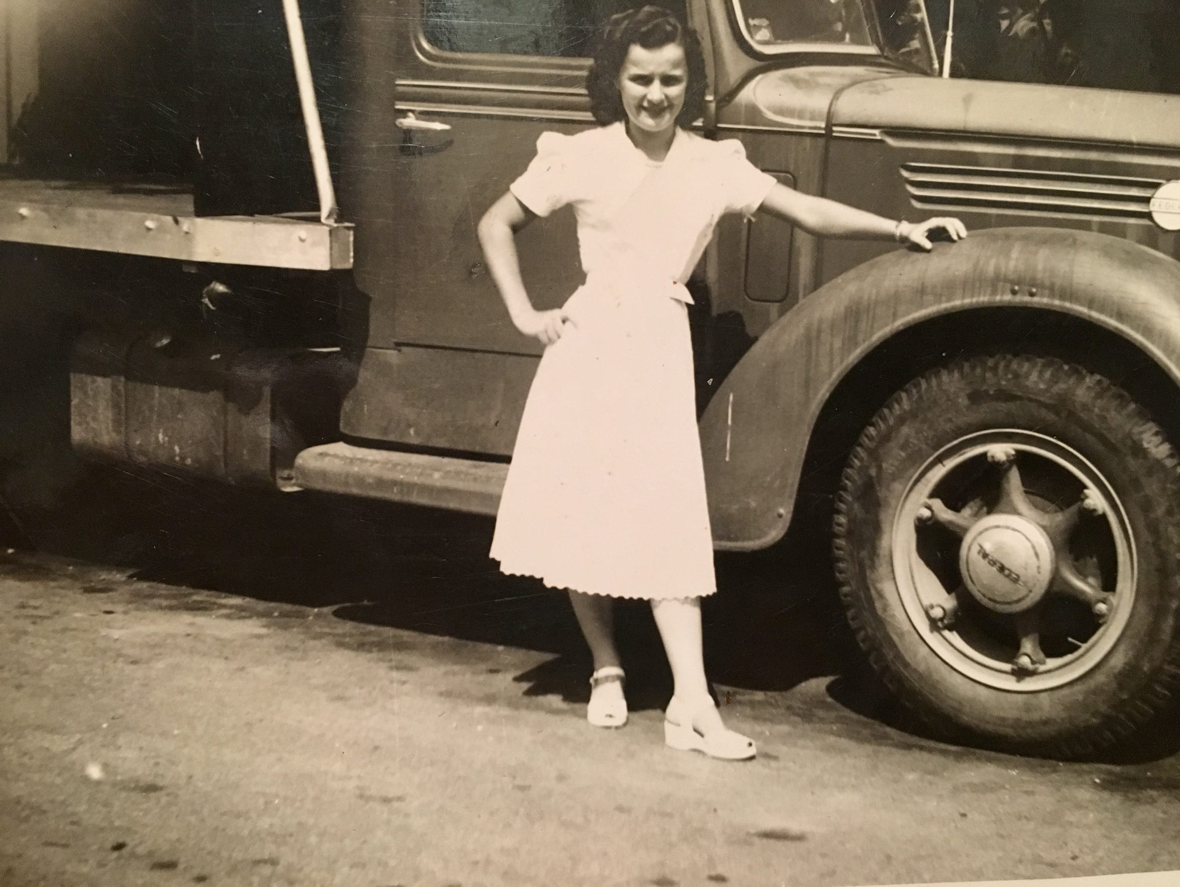 Helen Harney, a teenager in the late 1940s, grew up on a farm in north central Kentucky.