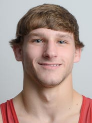 New Oxford's Zurich Storm, a GameTimePA all-star wrestler.