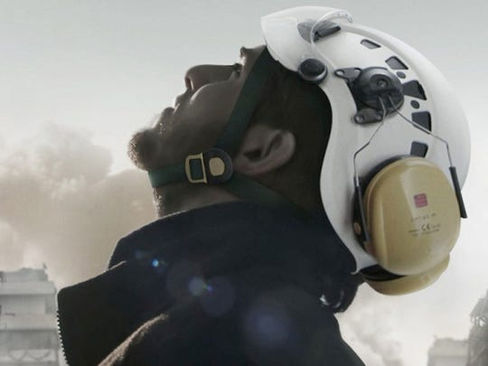 """The White Helmets"" (United States, 41 minutes), directed by Orlando von Einsiedel, tells the story of the unarmed and neutral civilian volunteers who comb through the rubble after bombings to rescue survivors in the chaos of war-torn Syria."