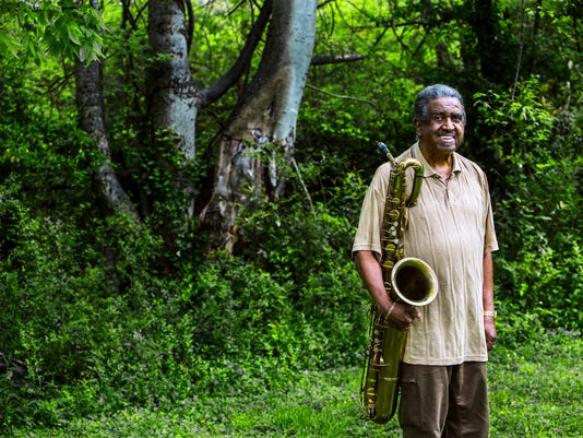 Memphis Sax Player Floyd Newman Donates Saxophone To Stax Museum