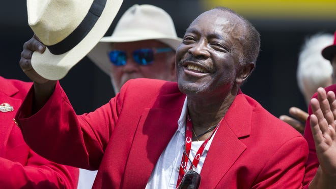 Reds Hall of Famer Joe Morgan in June of 2017.
