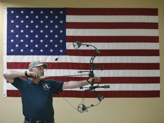 Paul Shaver of Hilton, who has been a bowhunter for