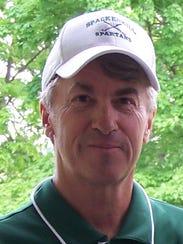 Spackenkill High School boys golf coach Keith Humphrey