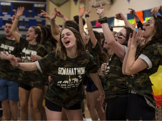 Squanathon is a 12-hour overnight dance-a-thon for