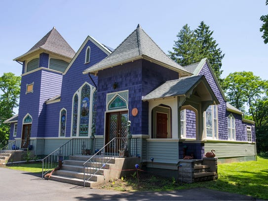 A former Upper Freehold Baptist Church has been converted