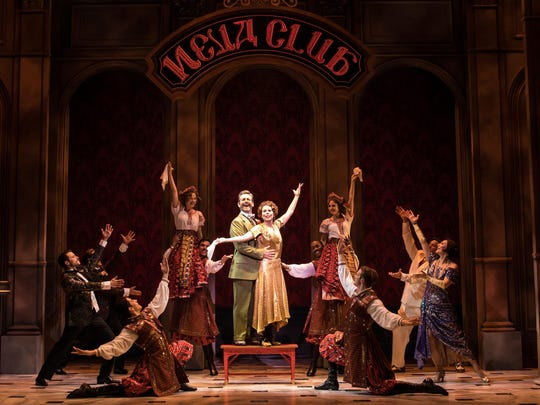 "The historical, romantic musical ""Anastasia"" comes with massive sets, complex costumes and spectacular dancing."