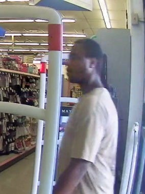 Delaware State Police are asking for help in identifying this man, who exposed himself to a Walgreens employee in Millville July 22.