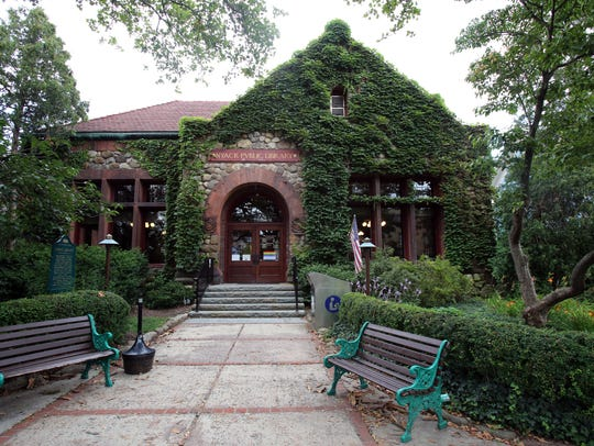 Nyack Library July 18, 2017.