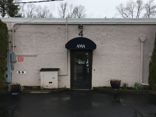 One of the buildings used by AMA Laboratories Inc.