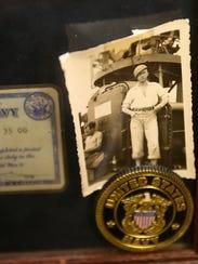 A photo of Warren Deppe when he was in the U.S. Navy