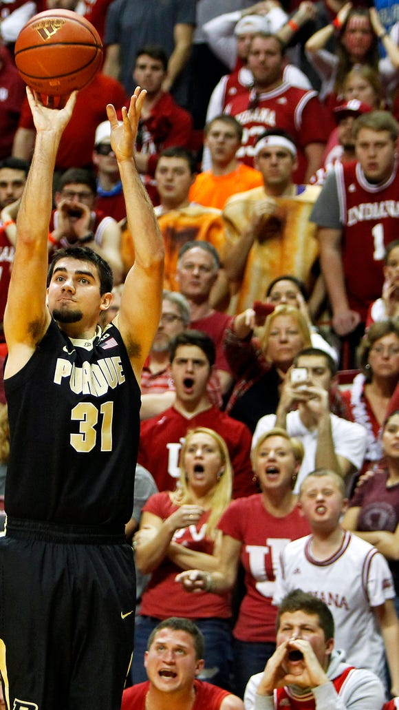 Purdue faces off against Indiana in Assembly Hall in