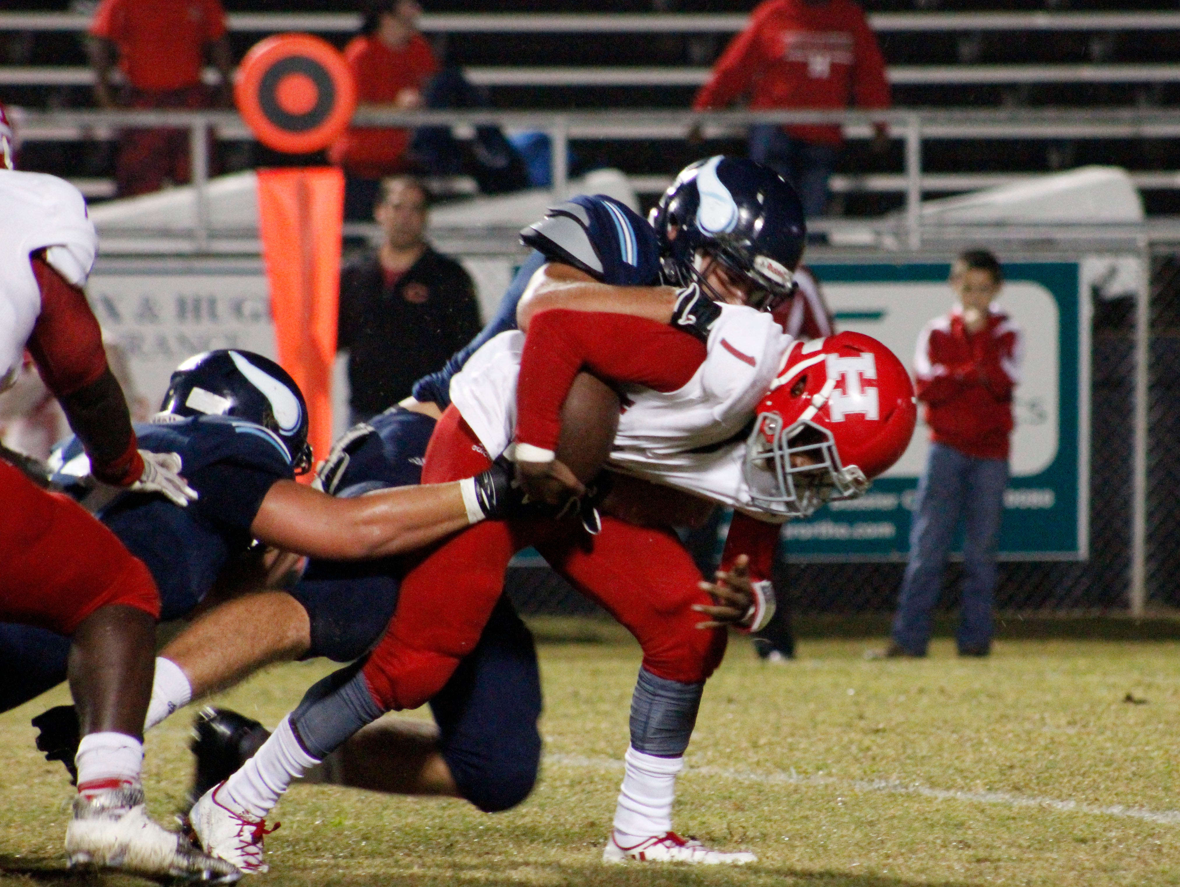 The Airline High School Vikings football team host the Haughton High School Buccaneers on Friday night in Bossier City.