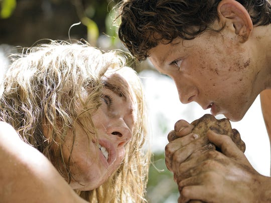 Naomi Watts and Tom Holland in a scene from 'The Impossible.'