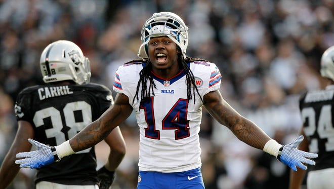 Buffalo Bills wide receiver Sammy Watkins wants more targets.