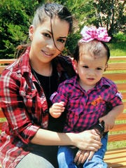 """Natasha Cadena, 32, of Wichita Falls, Texas, shown in previous years with her young daughter, Bella, committed suicide July 4, 2017, in an act that her mother says was related to the """"Blue Whale Challenge."""""""