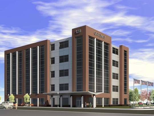 The Gateway office building will be built on the west end of downtown Neenah.
