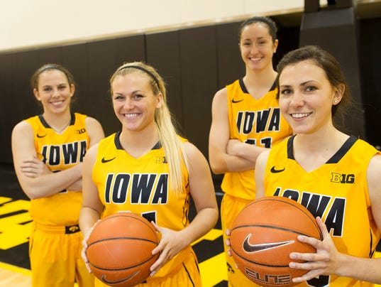Iowa women's basketball team has depth to match talent