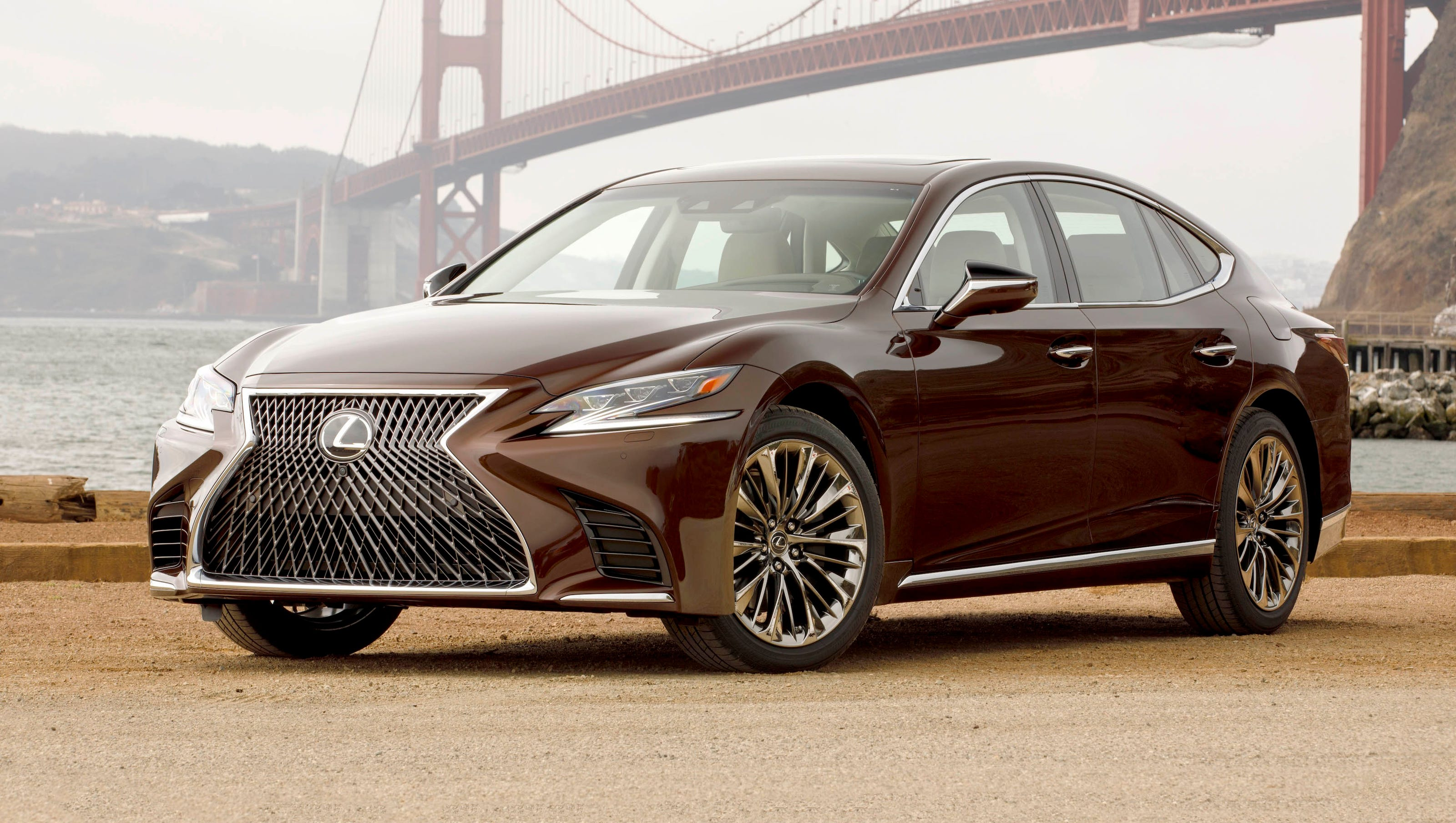 2018 Lexus Ls 500 Is A 100k Beauty With Beastly Controls