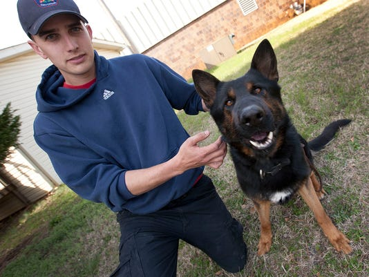 Greer Police dogs