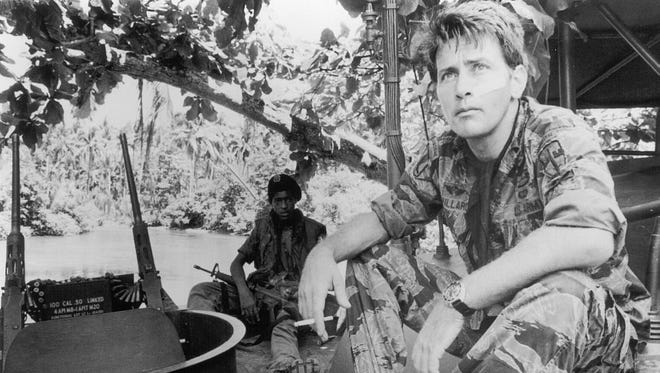 Martin Sheen in a scene from the 1979 Francis Ford Coppola film 'Apocalypse Now.'