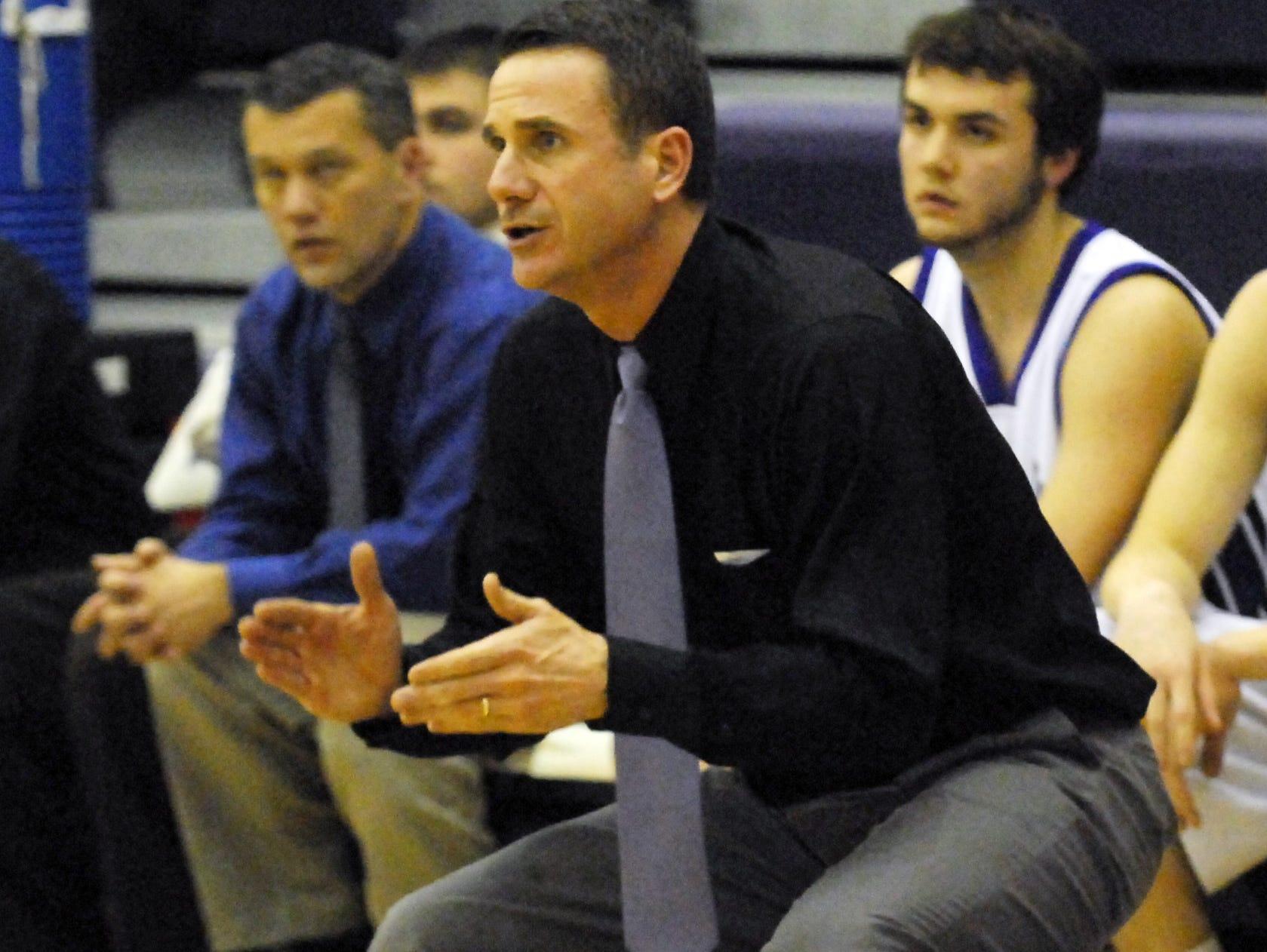 Lakeview boys basketball coach Steve Wichmann.