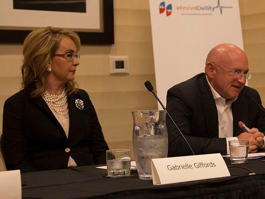 Former Arizona Rep. Gabby Giffords