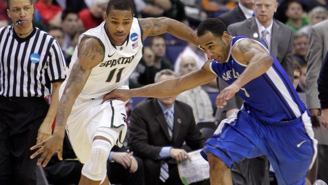 Keith Appling is one of seven Spartans to finish with more than 1,500 points and 450 assists.