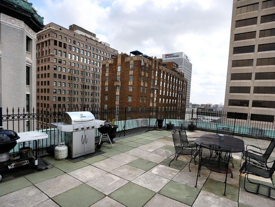 The 2,300-square-foot two-bedroom, two-bath penthouse