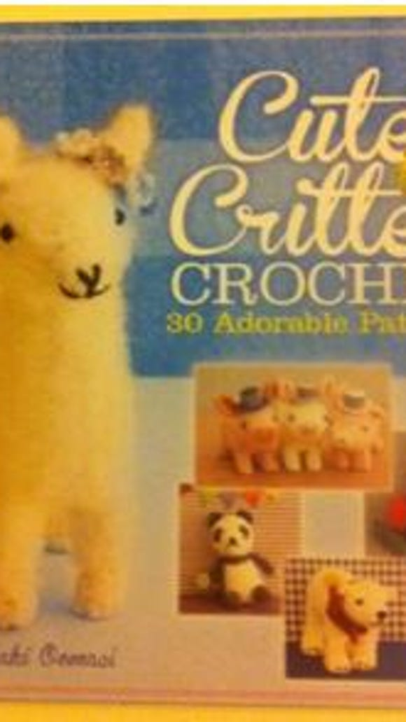 """Cute Critter Crochet"" is a book of crocheted toys by"