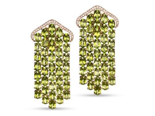 Elizabeth Taylor's earrings.