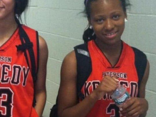 Nazerah Bugg, 14, was a standout on the JFK basketball team.