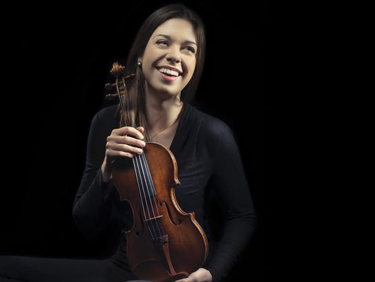Violinist Tessa Lark will be the guest soloist on Tchaikovsky's
