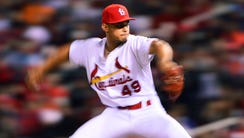 Cardinals reliever Jordan Hicks may look like a blur