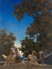 Artist Maxfield Parrish's work gained popularity thanks