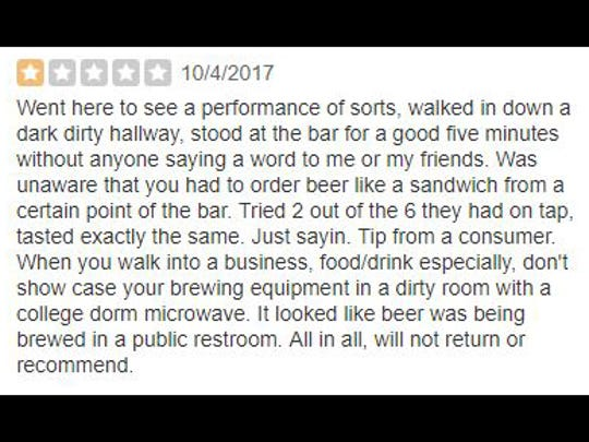 A review of Union Brewing.