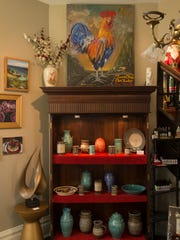 Local artists' work is displayed throughout the STAC Art Gallery at 416 Washington Ave. in Evansville.