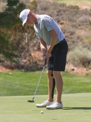 Region 9 boys compete at Sky Mountain Golf Course Wednesday,