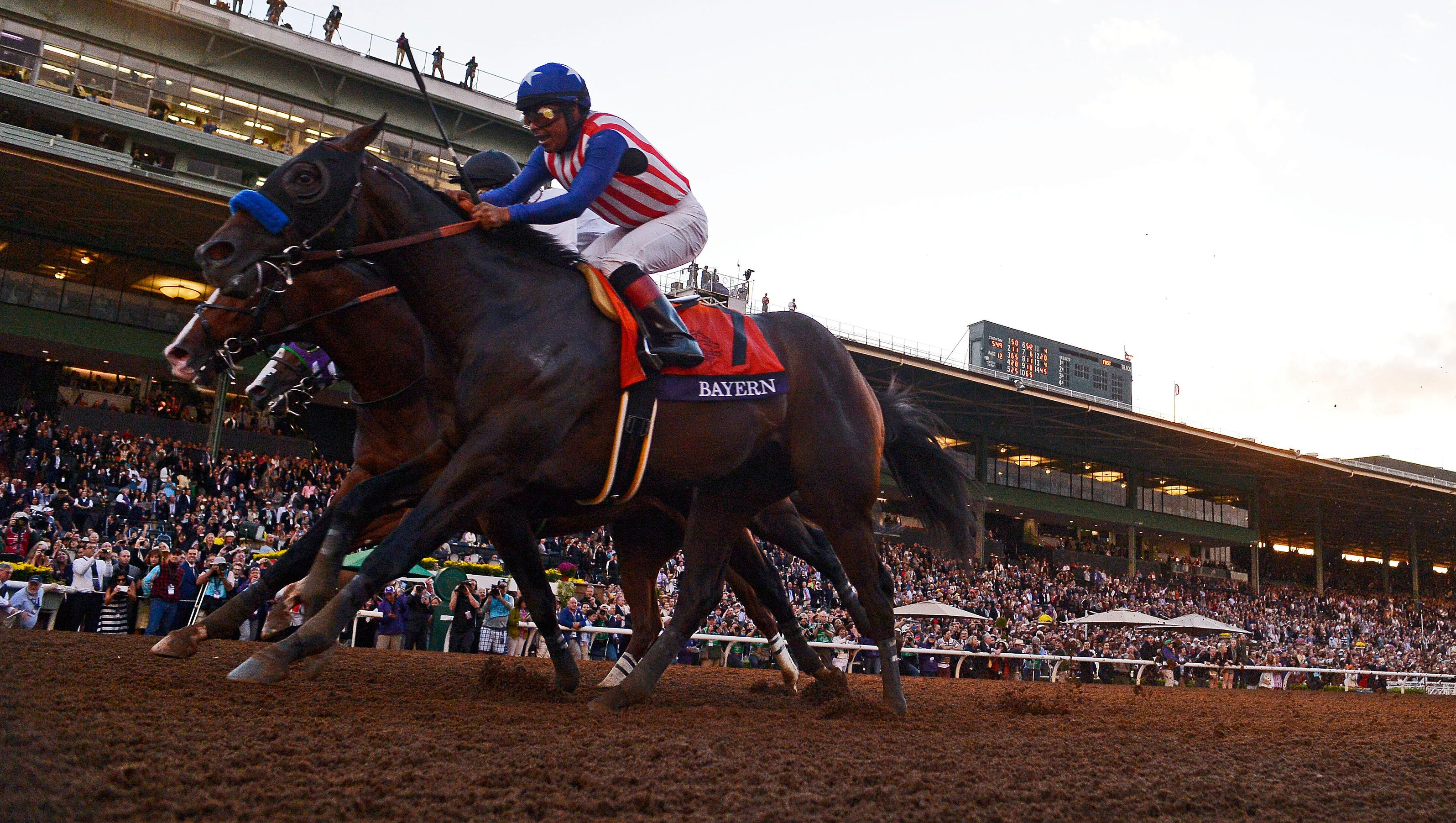 Bayern Wins Classic California Chrome Finishes Third